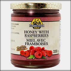 Honey with Raspberries