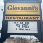 Giovannis Sign War 2021
